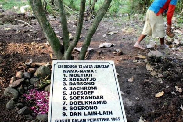 Tempat Bekas Pembantaian PKI